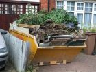 Skips available for garden clearance